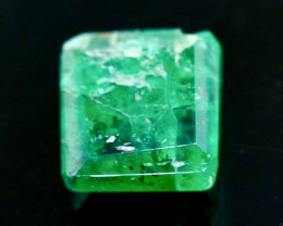 0.52 Crt Natural  Emerald Faceted Gemstone.( AB 93)