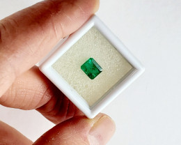 1.695 CT Colombian Emerald Faceted Gemstone *ON SALE - $600*