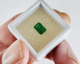1.055 CT Colombian Emerald Faceted Gemstone *ON SALE - $225*