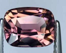 1.55 Stunning Peach & Pink Color Tourmaline Faceted Gem