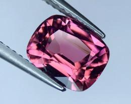 2.40 ct Custom Cut Hot Pink Tourmaline