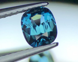 0.80 ct Extremely Rare Teal Blue Tourmaline Superb Color Combination Facete
