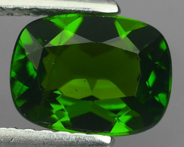 1.50 CTS NATURAL ULTRA RARE CHROME GREEN DIOPSIDE  RUSSIA NR!!