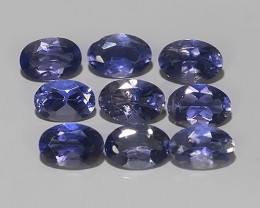 3.65 CTS WOW!! DAZZLING NATURAL LOVELY RARE LUSTER  BLUE IOLITE PARCEL!!