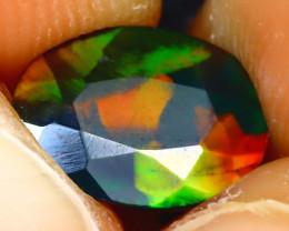 Welo Opal 1.53Ct 2Pcs Natural Ethiopian Smoked Welo Opal D0220/A28