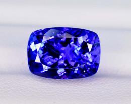 10.30  Carats Eye Catching Dazzling AAA~Color  Tanzanite Gemstone