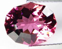 4.77Cts Natural Massive Hot Pink Tourmaline Oval Custom Cut REF VDO