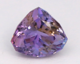 Unheated Tanzanite 2.46Ct Purplish Pink Blue TriColor Tanzanite AT01