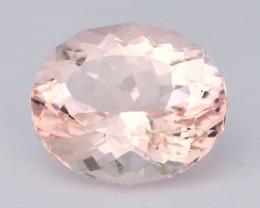 4.15Ct Morganite  VVS  Sweet Pink Color Natural Morganite AT03