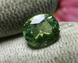 Rutile Peridot Gemstone From Pakistan