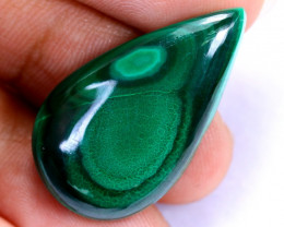 27.50cts Natural Earth Stone Malachite / MA1355