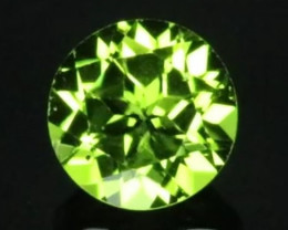 2.41cts Peridot,  Untreated,  Calibrated