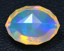 Welo Opal 1.98Ct Master Cut Natural Ethiopian Play Color Welo Opal A3001