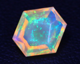 Welo Opal 1.43Ct Master Cut Natural Ethiopian Play Color Welo Opal A3003