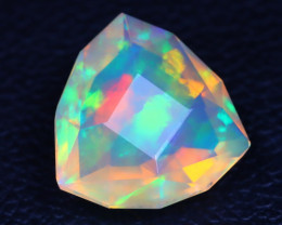 Welo Opal 1.80Ct Master Cut Natural Ethiopian Play Color Welo Opal A3004