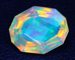 Welo Opal 1.77Ct Master Cut Natural Ethiopian Play Color Welo Opal A3005