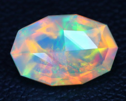 Welo Opal 1.46Ct Master Cut Natural Ethiopian Play Color Welo Opal A3006