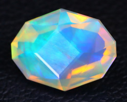 Welo Opal 1.72Ct Master Cut Natural Ethiopian Play Color Welo Opal A3008