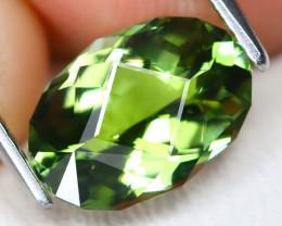 Tanzanite 2.19Ct VVS Master Cut Natural Green Peacock Tanzanite B3002