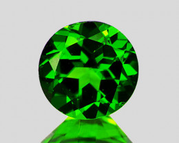 4.00 mm Round 0.33ct Chrome Green Diopside [VS]