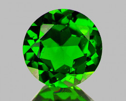 4.00 mm Round 0.34ct Chrome Green Diopside [VVS]