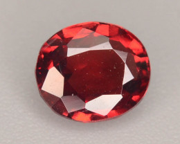 Lovely Cut 0.80 ct Orange Garnet Ring Size