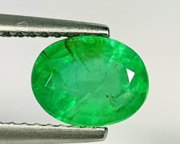 1.25 ct Top Grade Gem Stunning Oval Cut Natural Emerald