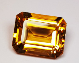 3.28 ct Top Luster Gem Beautiful Oval Cut Natural Citrine