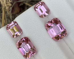 8.09 Cts AAA Grade Classic Rose Pink Tourmaline Afghanistan Flawless Pairs