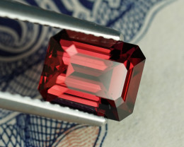 2.05CT MASTER CUT INTENSE RED COLOR RHODOLITE GARNET $1NR!