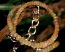 13 Crts Natural Ethiopian Welo opal bracelet 331