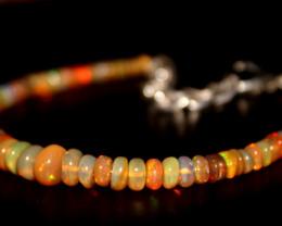 21.85 Crts Natural Ethiopian Welo opal bracelet 332