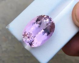 22.30 Ct Natural Pink Transparent Kunzite Gemstone