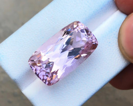 25.80 Ct Natural Pinkish Transparent Kunzite Gemstone