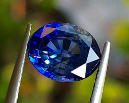 2.83 ct Sapphire with Excellent luster and Fine Cutting Gemstone