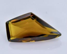 6.60 Crt  Conic Quartz Faceted Gemstone (Rk-69)
