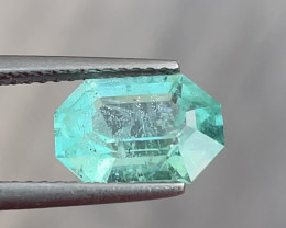 Lovely 2.05ct No-oil emerald from Nigeria