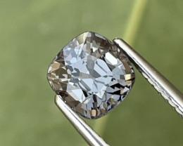 1.89 Cts Burma Fine Grade Metallic Grey Natural Spinel