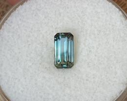 0,88ct Blue Sapphire - Master cut!