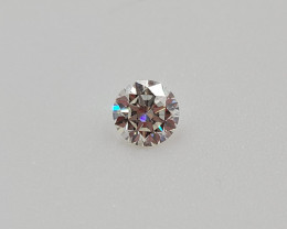 3-EX GIA Certified Round Brilliant Cut 0.40 cts Natural Diamond