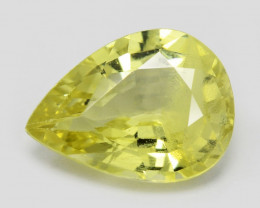 *NoReserve*Chrysoberyl 1.29 Cts Very Rare Yellowish Green Color Natural Gem
