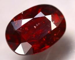 Almandine 4.38Ct Natural Vivid Blood Red Almandine Garnet D0407/B26