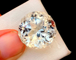 30.00 Carats Sherry Color topaz loose gemstone