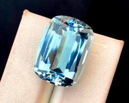 22.25 Carats Aqua Goshnite Gemstone From Pakistan
