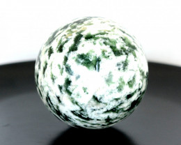 1858 CTs Beautiful Healing Sphere Zebra Jasper From Pakistan