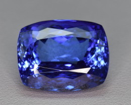 44.98 Cts Natural Tanzanite Jumbo Size Collector's Grade Faceted Gemstone