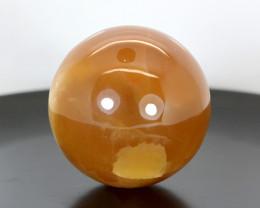 1425 CTs Beautiful Honey Calcite Healing Sphere From Pakistan
