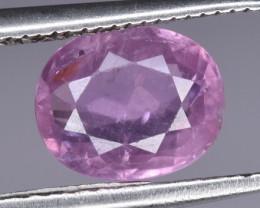1.31 CTS Natural Pink Sapphire Gem