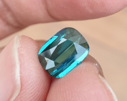 NO HEAT 2.23 CTS GORGEOUS VVS INDICOLITE BLUE TOURMALINE MOZAMBIQUE