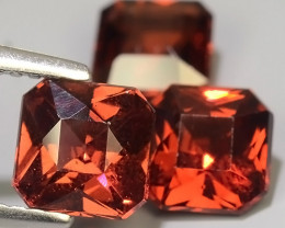5.80 CTS~ RAREST NATURAL TOP LUSTER RHODOLITE GARNET GEM~PARCEL!!